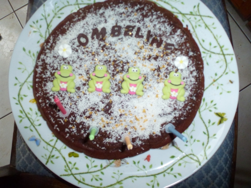 gâteau chocolat, anniversaire