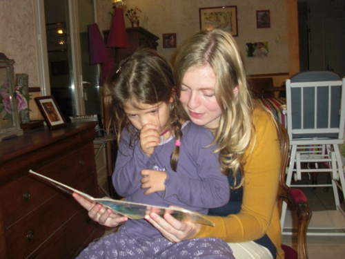storytime, marcassine, jeune fille au pair