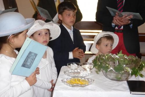 marcassins, baptême tridentin