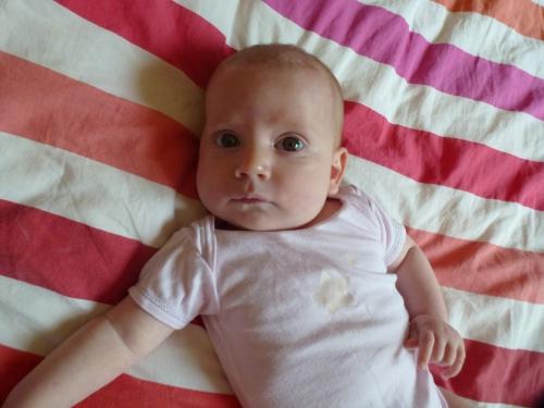 quatre mois, bébé