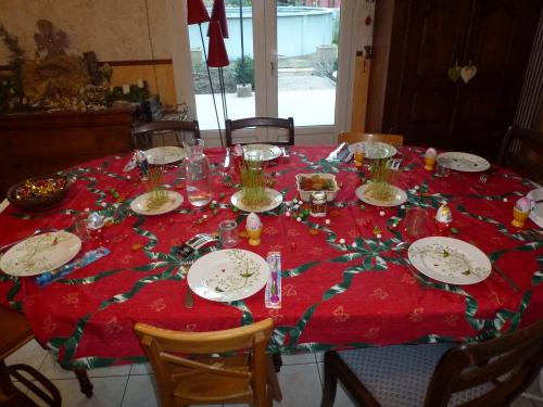 table de fête, epiphanie