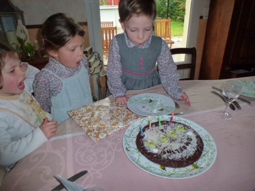 anniversaire, 4 ans