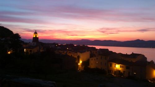 Saint Tropez, coucher de soleil