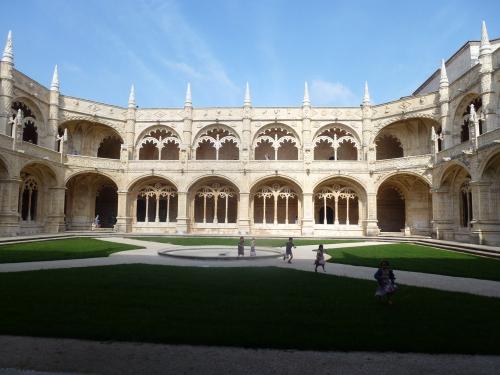 cloître des Jeronimos, Lisbonne