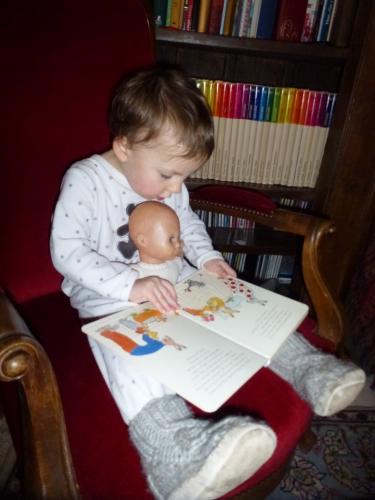 lire à son enfant