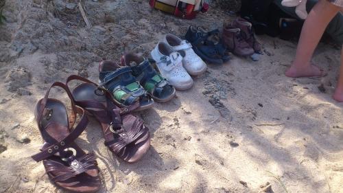marcassins, série, chaussures