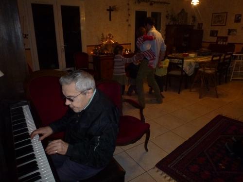 tango, piano, grand-pere