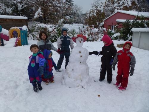 bonhomme de neige , Brignoles
